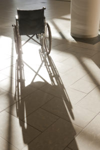 Minnesota Nursing Home Neglect Attorney Kenneth LaBore Vulnerable Resident in Wheelchair