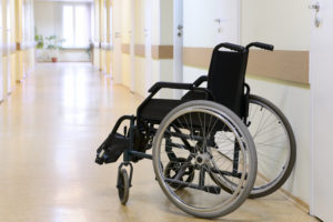 Minnesota Nursing Home Absue Attorney Kenneth LaBore Vulnerable Resident in Wheelchair